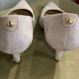Michael Kors , light pink 2 1/2 heel height .